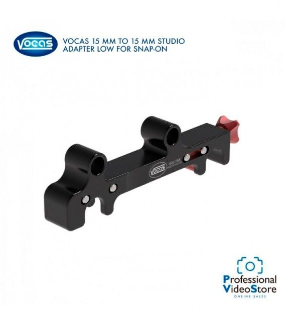 VOCAS 15 MM TO 15 MM STUDIO ADAPTER LOW FOR SNAP-ON