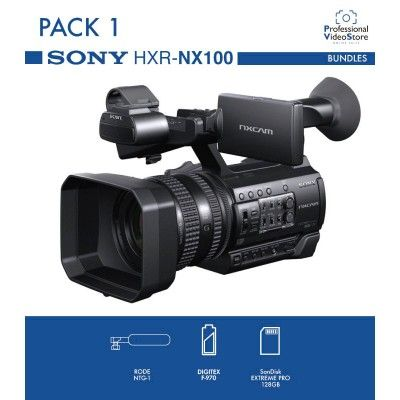 PACK 1 SONY HXR-NX100