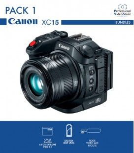 PACK 1 CANON XC15