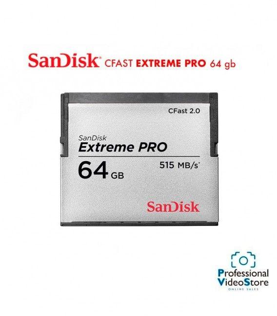 SANDISK CFAST EXTREME PRO 2.0 64 GB