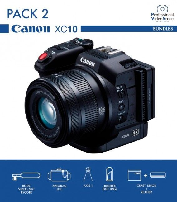 PACK 2 CANON XC15