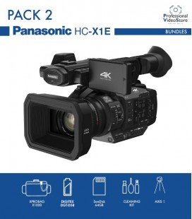 PACK 2 PANASONIC - HC-X1