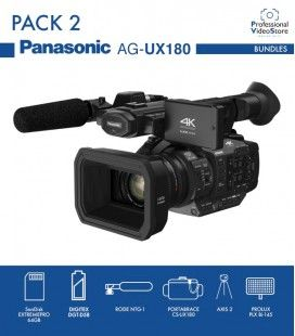 PACK 2 PANASONIC AG-UX180
