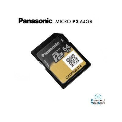 PANASONIC MICRO P2 64 GB