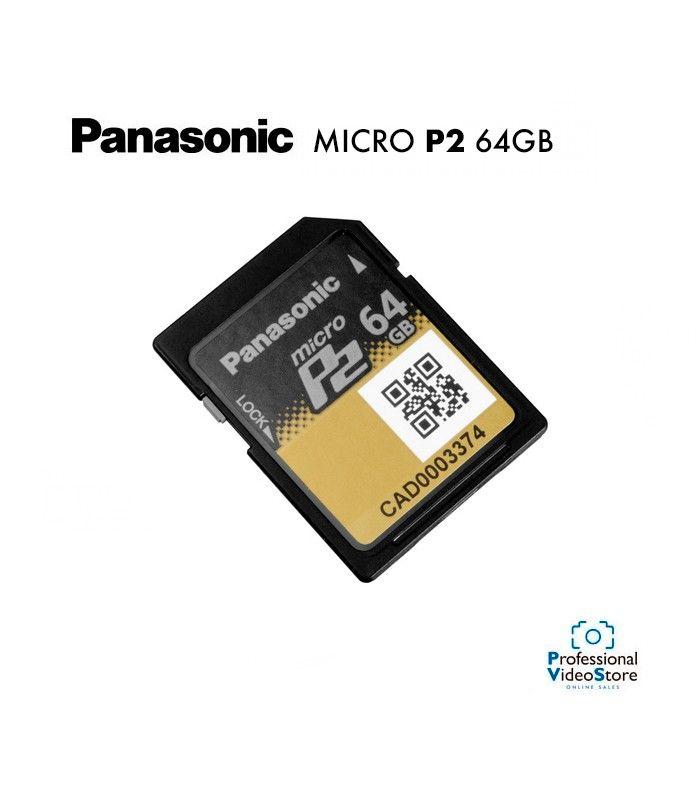 AJ-P2M064AG Panasonic AJ-P2M064AG P2 card 64GB