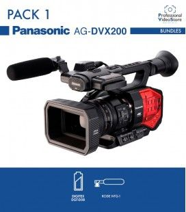 PACK 1 PANASONIC AG-DVX200