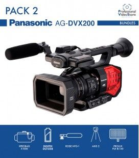 PACK 2 PANASONIC AG-DVX-200