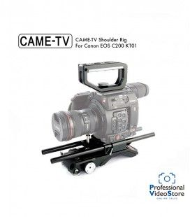 CAME-TV Shoulder Rig For Canon EOS C200 KT01