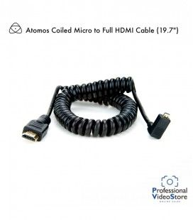 "Atomos Micro to Full HDMI Coiled Cable (11.8 to 17.7"")"