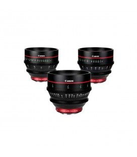 CANON 3 CN-E LENSES KIT 24, 50 , 85 MM