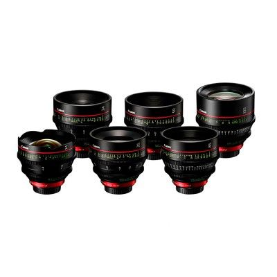 CANON 6 LENSES CN-E KIT 14, 24, 35, 50, 85, 135 MM