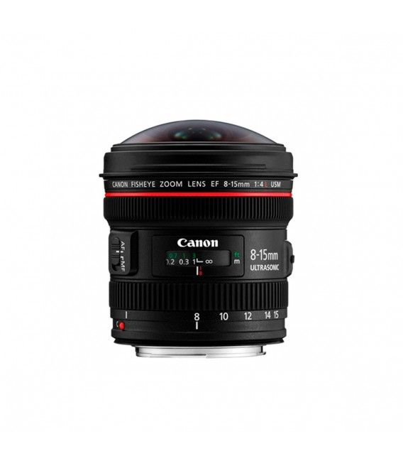 CANON EF 8-15mm f4.0 L USM FISHEYE