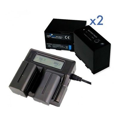 PACK 2 DIGITEX (Compatible with Canon BP975)