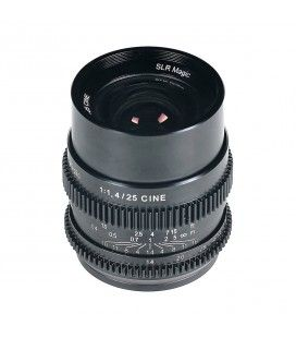 SLR Magic CINE 25mm F1.4 lens (Sony E Mount)
