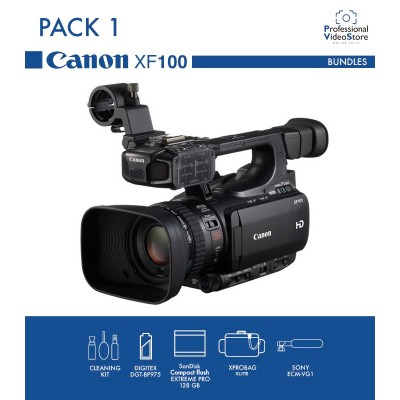 PACK 1 CANON XF100