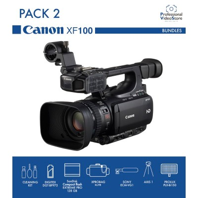 PACK 2 CANON XF100 (Discontinued)