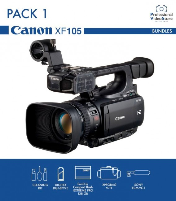 PACK 1 CANON XF105