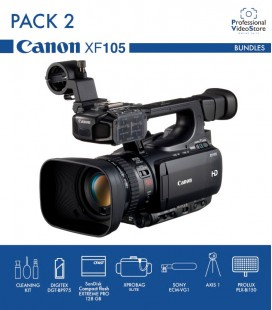 PACK 2 CANON XF105 (Discontinued)