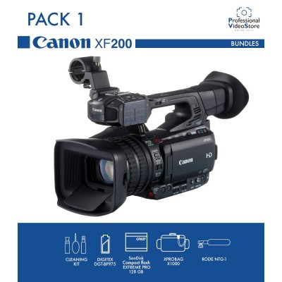 PACK 1 CANON XF200 (Discontinued)