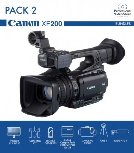 PACK 2 CANON XF200