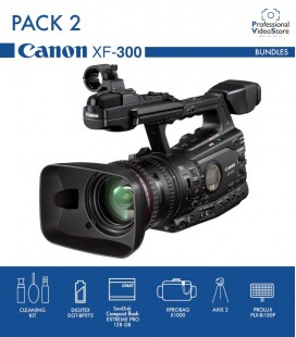 PACK 2 CANON XF300