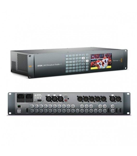 BLACKMAGIC ATEM 2 ME BROADCAST STUDIO 4K