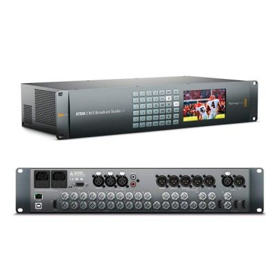 BLACKMAGIC ATEM 2 ME BROADCAST STUDIO 4K 8 (Discontinued)