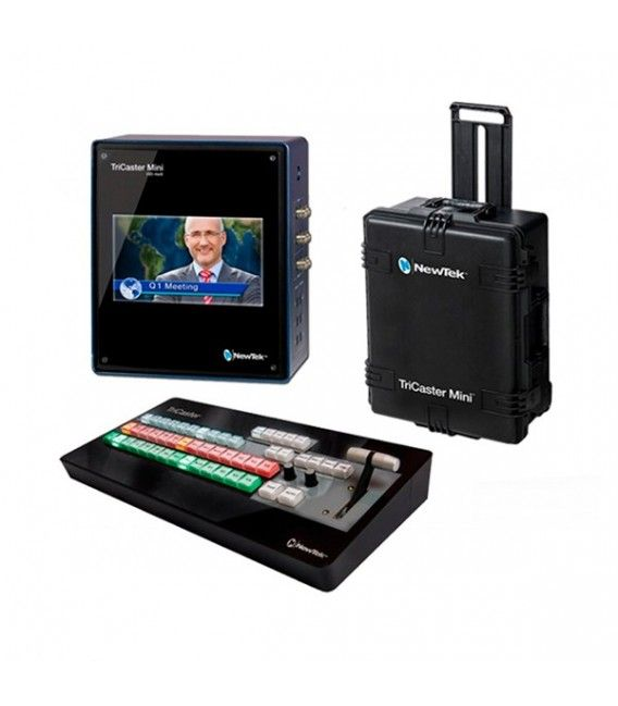 NEWTEK TRICASTER MINI SDI + CS BUNDLE