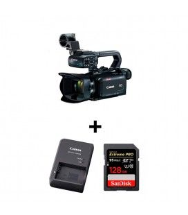PACK CANON XA11 + SANDISK SDXC 128GB + BATTERY CHARGER CG800