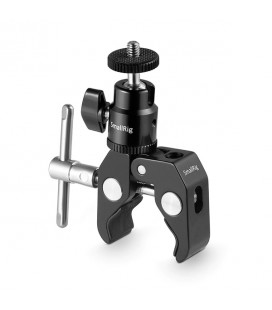 "SmallRig Clamp Mount with 1/4"" Screw Ball Head Mount 1124"