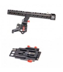 CAME-TV For EOS C300 Mark II CAME-TV Top Handle And Base Plate