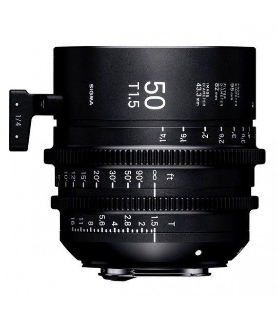 SIGMA 50MM T1.5 FF F/CE