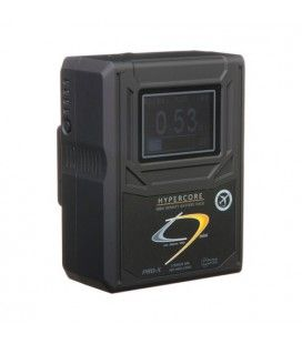 CoreSWX 98wh, 14.8v 6.6Ah 3-Stud Mount Hi-Draw Li-ion Battery Brick with Backlit LCD and Fuel Gauge