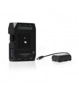 CoreSWX PowerBase EDGE Small Form Cine V-Mount Battery Pack 49wh, 14.8v with Panasonic GH3/4/5/5S