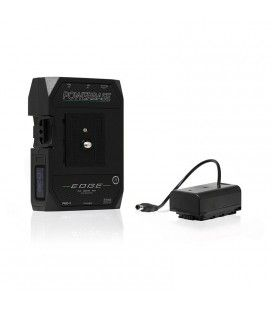 CoreSWX PowerBase EDGE Small Form Cine V-Mount Battery Pack 49wh, 14.8v with Panasonic