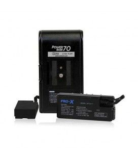 """CoreSWX PowerBase 70 for Panasonic DV, HPX and HVX Camcorders, 12"""""""