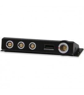 CoreSWX EVO Power Distribution Module - Three 2-pin Lemo 12v, 1 USB, 1 6-pin Lemo DC-in