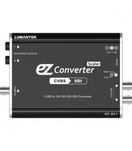 Lumantek ez-AS+ CVBS to 3G/HS/SD-SDI Converter with scaler