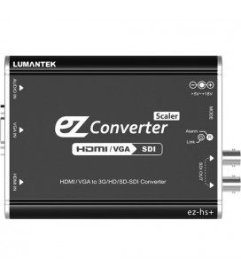 Lumantek ez-HS+ HDMI/VGA to 3G/HS/SD-SDI Converter with Scaler