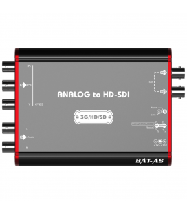 Lumantek BAT-AS Analog to HD-SDI Converter