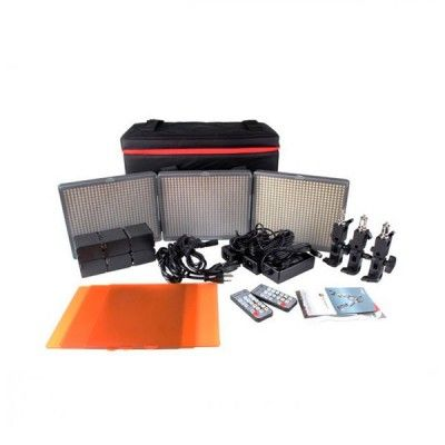 APUTURE PANELES LED Mod. HR672 Kit-SSC