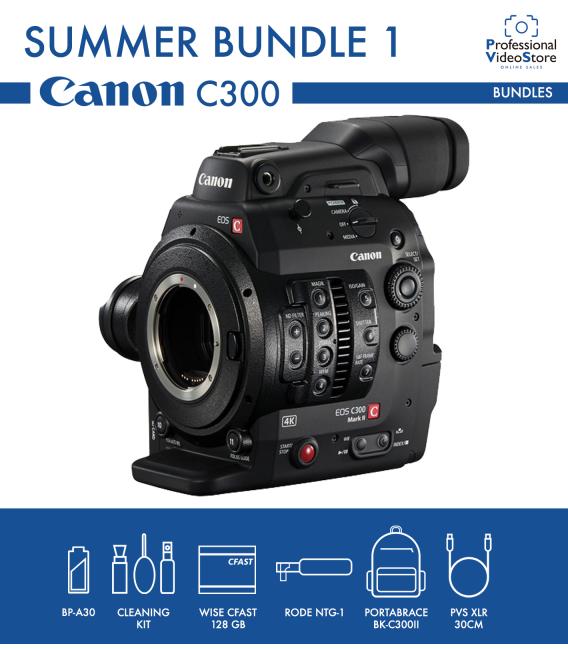 Canon EOS C300 MKII Summer Bundle 1
