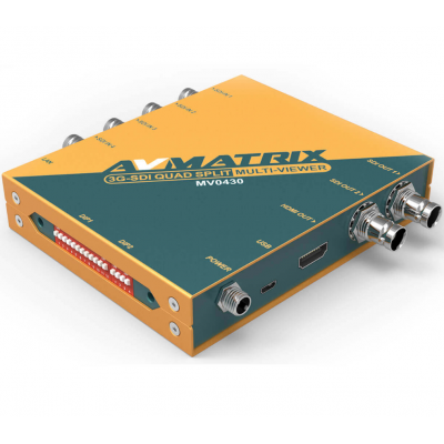 AVMATRIX MV0430 4 Channel SDI Multiviewer