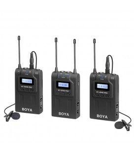 Boya UHF Pro 2TX + 1RX Wireless Microphone Kit