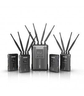 Hollyland Syscom421 Wireless Transmission Kit SDI/HDMI 600m 4 transmitters to 1 receiver