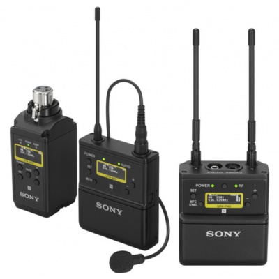 Sony UWP-D26 Camera-Mount Wireless Combo Microphone System (UC14: 470 to 542 MHz)