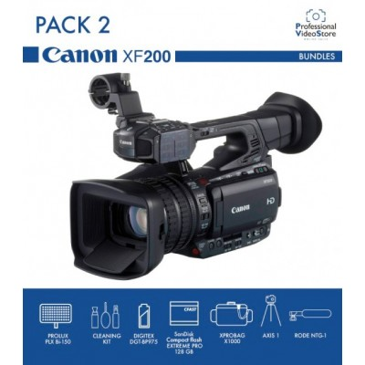PACK 2 CANON XF200 (Discontinued)