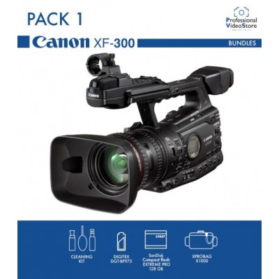 PACK 1 CANON XF300 (Discontinued)