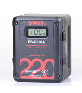 Swit PB-S220A 220Wh Gold-mount Digital Battery