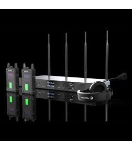 Hollyland Syscom1000T. Intercom Audio System for 4 flasks expandable to 8. 350m, Tally